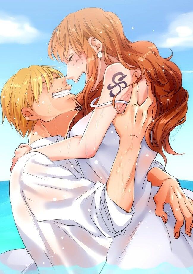 And nami sanji Relationship between