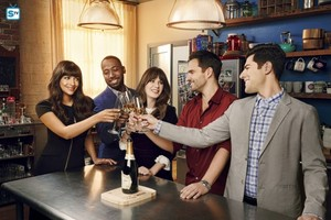 New Girl Season 7 Cast Promotional foto-foto