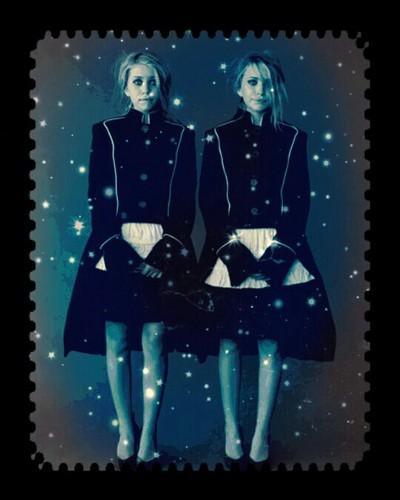 Mary-Kate & Ashley Olsen 壁纸 called Olsen twins