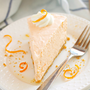 jeruk, orange Creamsicle Cheesecake