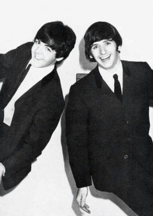 Paul and Ringo