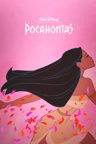 Диснеевские принцессы Обои entitled Pocahontas Fanmade poster