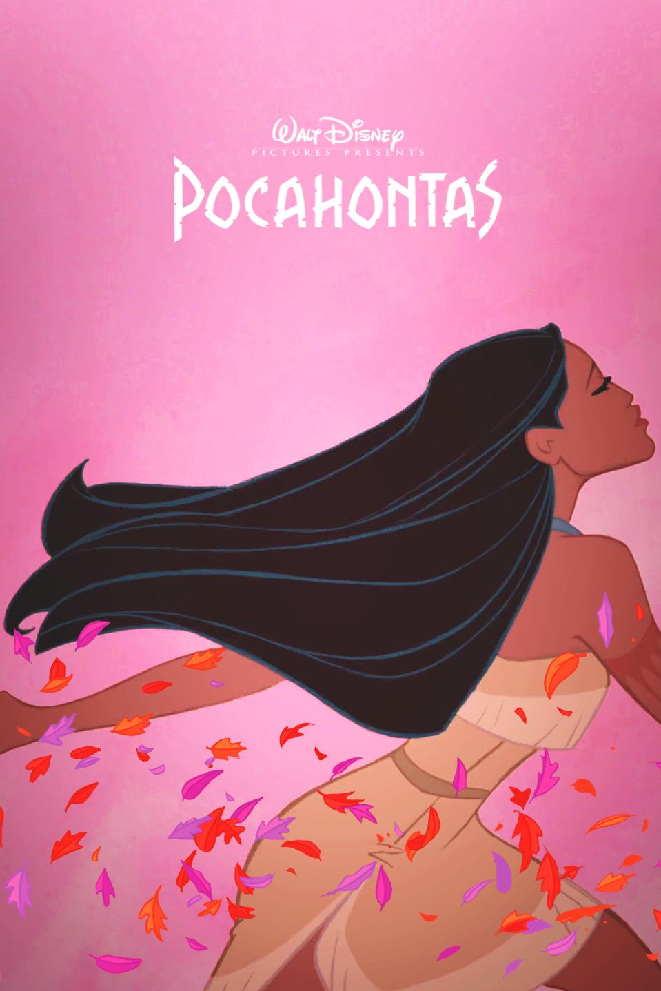 Pocahontas Fanmade poster