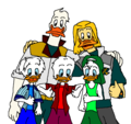 Walt Disney Fan Art - Quack Pack & Mighty Ducks  Disney Afternoon & Toon Disney  - walt-disney-characters fan art