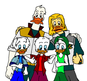 Walt Disney tagahanga Art - Quack Pack & Mighty Ducks Disney Afternoon & Toon Disney