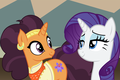 Rarity x Saffron Masala (Romance)  - rarity-the-unicorn fan art