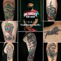 Roly T-Rex | Team Steve | Ink Master: Return of the Masters
