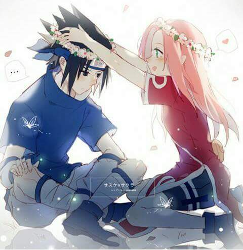 Sasuke and Sakura wallpaper called Sasuke/Sakura🌺