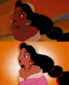Screencap redraw - Jasmine - disney-princess photo