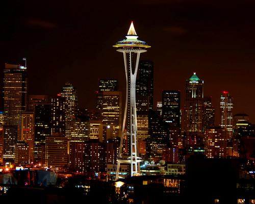 Dual Monitor (3840x1080) Seattle Wallpaper by WillFactorMedia ...