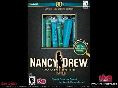 Nancy Drew games 바탕화면 entitled Secrets Can Kill