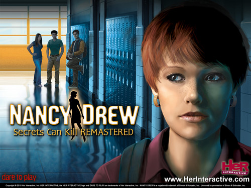 Nancy Drew games 바탕화면 titled Secrets Can Kill