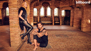 Shakira and Maluma pose for Billboard Magazine [April 2018]