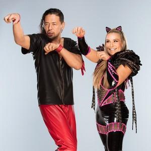 Shinsuke Nakamura and Natalya