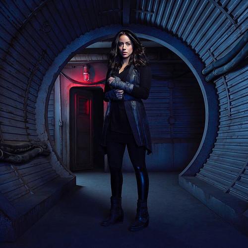 Skye (Agents Of S.H.I.E.L.D) 바탕화면 entitled Skye
