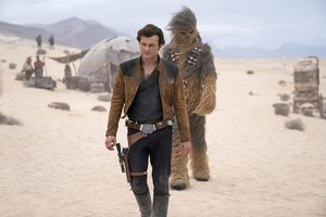 Solo: A 星, つ星 Wars Story movie promotional picture