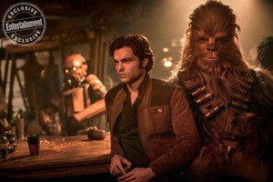 Solo: A estrela Wars Story movie promotional picture