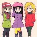 South Park Girls - south-park fan art