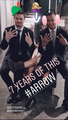 """Stephen, Emily and David: """"7 years of this ARROW"""" - stephen-amell-and-emily-bett-rickards photo"""