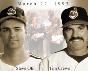 Steve Olin And Tim Crews