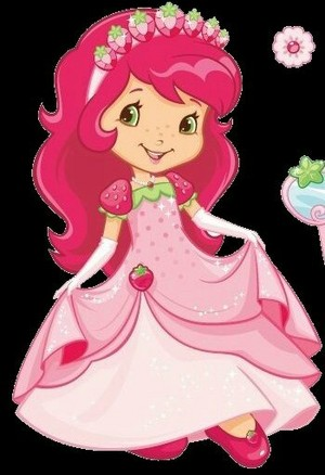Princess fragola frollino, shortcake