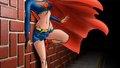 dc-comics - Supergirl Wallpaper - Back Against The Wall wallpaper