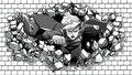 dc-comics - Supergirl Wallpaper Hitting The Bricks  wallpaper