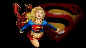 Supergirl achtergrond Perfect Flight