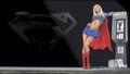 dc-comics - Supergirl Wallpaper Under A Street Light wallpaper