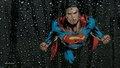 dc-comics - Superman Wallpaper Thru Wet Glass wallpaper