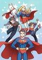 Superman and Family - superman fan art