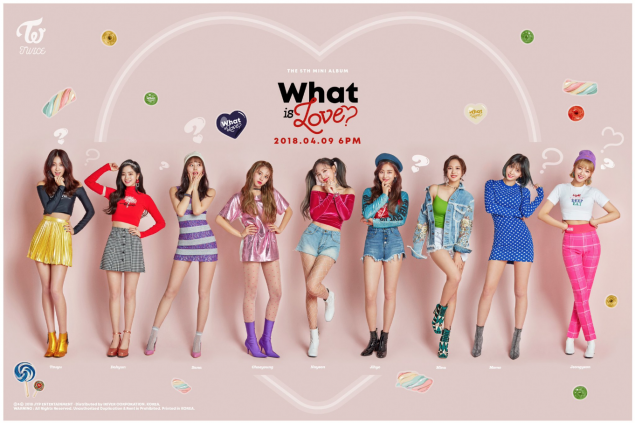 TWICE go funky in 'What Is Love?' group teaser