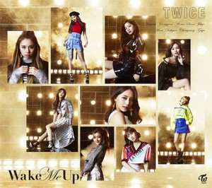 TWICE teaser 图片 for their 3rd Japanese single 'Wake Me Up'