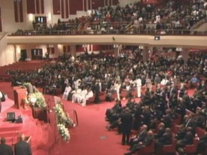 Teddy Pendergrass' Funeral In 2010
