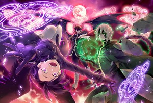 The Devil Is A Part-Timer - and my current fondo de pantalla (and obsession)!