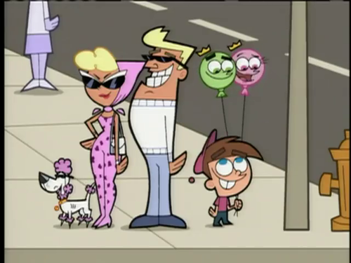 The Fairly OddParents karatasi la kupamba ukuta titled The Fairly OddParents