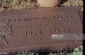 The Gravesite Of Dominique Dunne