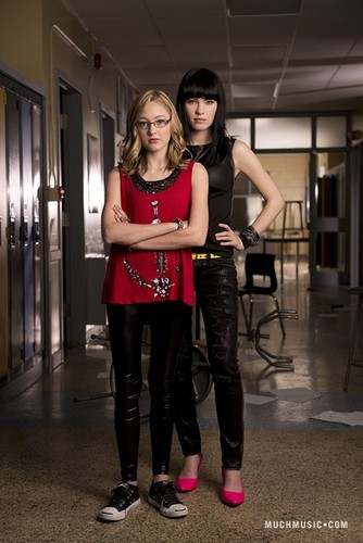 Degrassi: The Next Generation wallpaper entitled The Matlin sisters