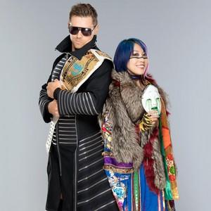 The Miz and Asuka