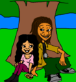 The Proud College Dayz Penny Proud and Fifteen (15)  Cent AshleighSharmaine Version - the-proud-family photo