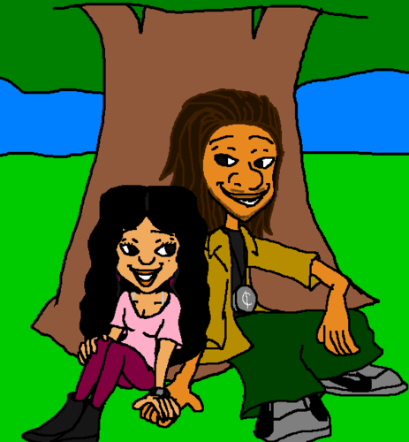 The Proud Family wallpaper entitled The Proud College Dayz Penny Proud and Fifteen (15)  Cent AshleighSharmaine Version
