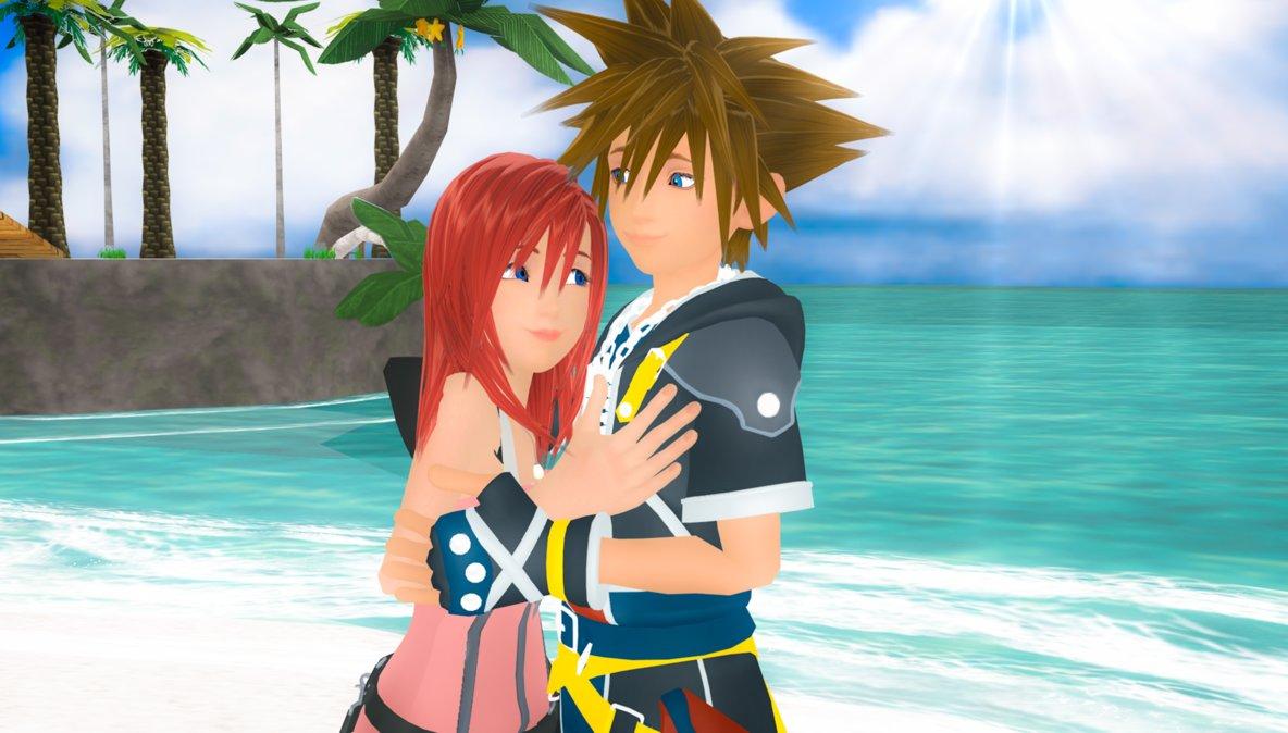 Kairi & Sora Bilder The Shine of Feelings Sora and Kairi 0.2 MMD. HD ...