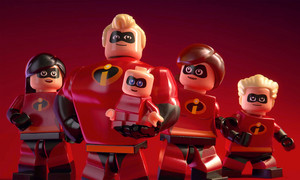 The incredibles legos