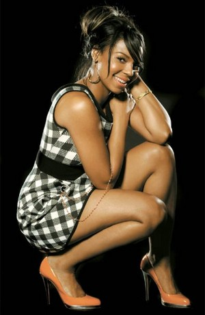The lovely Ms. Ashanti!!!!
