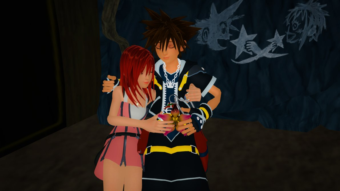 Kairi & Sora Bilder Together Forever Sora and Kairi 0.2 MMD HD ...