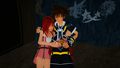 Together Forever Sora and Kairi 0.2 MMD