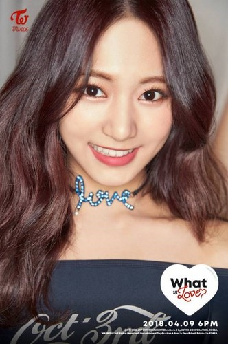 "Twice (JYP Ent) wallpaper called Tzuyu 2nd teaser image for ""What is Love?"""