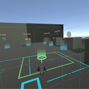 Valve teleport system in unity with HTC Vive