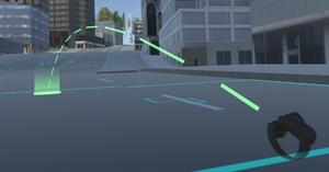 Valves unity VR teleport system