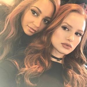 Vanessa and Madelaine